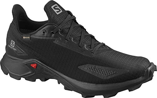 Salomon ALPHACROSS Blast GTX, Zapatillas de Trail Running para Hombre, Color: Negro (Black/Black/Black), 44 EU