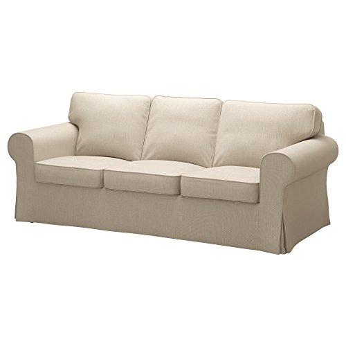 IKEA Ektorp ソファ用カバー Nordvalla ダークベージュ