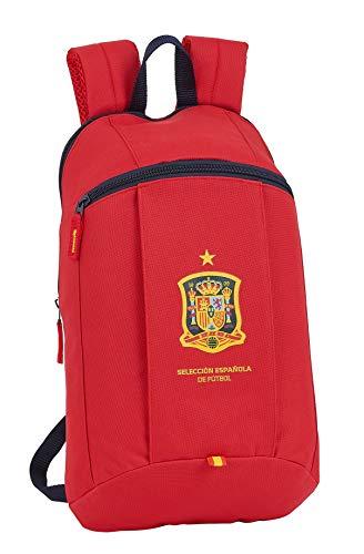 Mini Mochila Safta de Uso Diario de Selección Española de Fútbol, 220x100x390mm