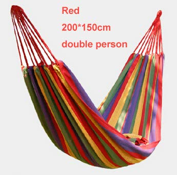 Bureze Amaca Hamac Outdoor amache Campeggio Caccia Leisure Products Super Big Hamaca Double Red