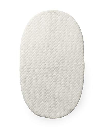 4moms mamaRoo Sleep Bassinet Waterproof Mattress Cover, White