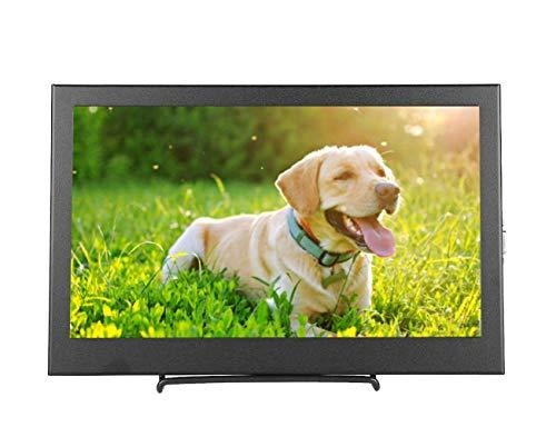 11,6 inch draagbare monitor 1920 * 1080P IPS LCD-scherm 170 graden brede kijkhoek HD16: 9 volledig scherm HDMI/VGA-ingangsmonitor voor Raspberry Pi B + / 2B / 3B, PS3, PS4, X-BOX