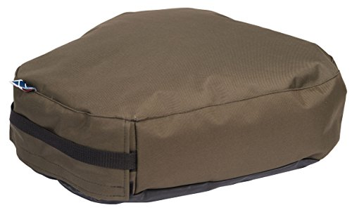 Gentry & Gillie Field Target Shooting Beanbag Cushion Seat (Green, Large)