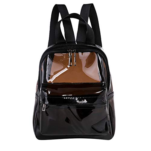 ❤️ Sunbona On Sale Schoolbag for Transparent Waterproof Book Female Fashion College Students Transparent Shoulder Bags Backpack