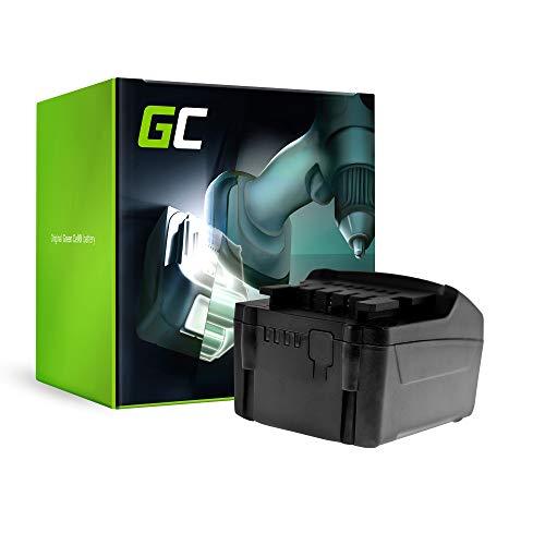 GC® (3Ah 18V Li-Ion cellen) Accu Batterij Vervangend batterijpakket voor Metabo BS 18 Quick Set 602217880 Elektrisch gereedschap