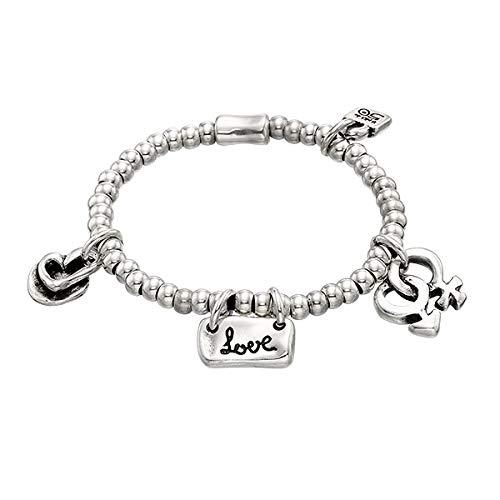 UNOde50 Armband Elastische liefde