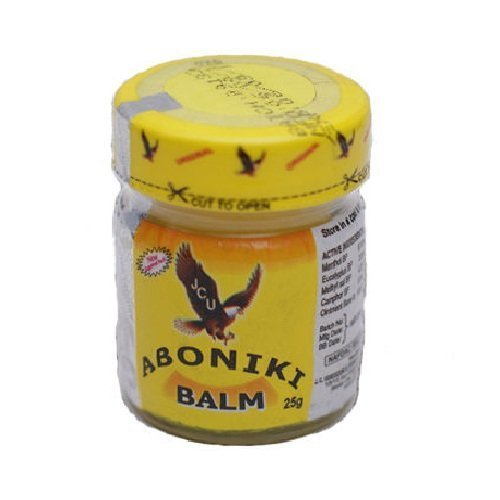 Aboniki Balm 25g for Pain Relief, Sore Muscles, Anti-inflammatory, Relieves Pains, Muscles, Waist and Backache by ABONIKI