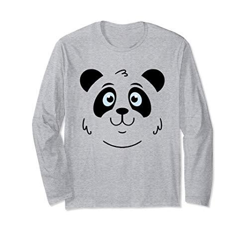 Carino Panda Face Panda Baby Panda Baby Panda Costume Regalo Maglia a Manica