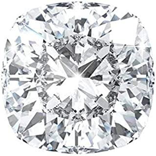 Excellent Corporation 0.57ct IGI Certified Lab Grown Diamond HPHT F SI1 Cushion Cut