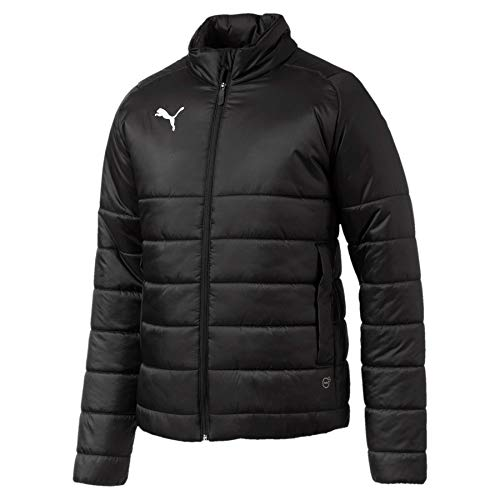 Puma Herren Liga Casuals Padded Jacket Jacke, Black White, S