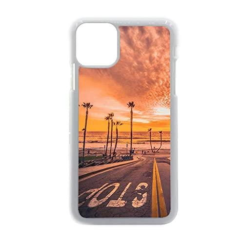 Caja del Teléfono Plástico Rígido Compatible con Samsung Galaxy S 21 para Chicos A Prueba De Golpes Tener California