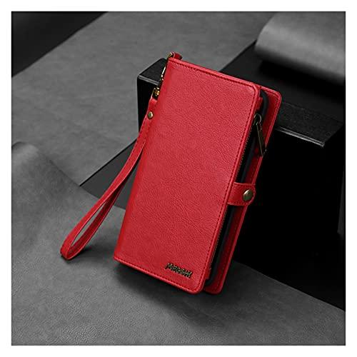 DingHome Caso para iPhone Max/iPhone 7 / iPhone 8, Cubierta de la caja del teléfono de cuero premium con cierre magnético compatible con Apple iPhone MAX 2020/7 / 8