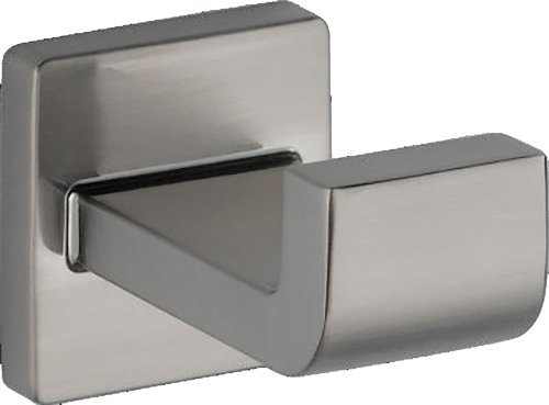 DELTA 77535-SS Ara Robe Hook, 3.88 x 2.50 x 3.88 Inches, Stainless