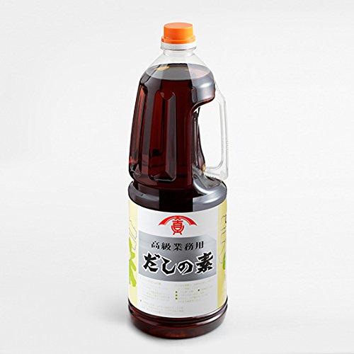 天真醤油 だしの素 1.8L 1本【高級業務用】
