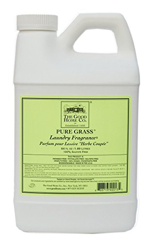 THE GOOD HOME COMPANY Laundry Fragrance, Pure Grass, 64 Ounce