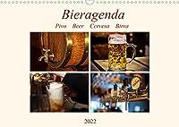 Bieragenda - Pivo Beer Cervesa Birra (Wandkalender 2022 DIN A3 quer): Impressionen vom Bier, von der Herstellung bis zum Genuss... (Monatskalender, 14 Seiten )