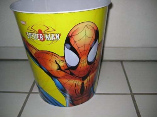 tôle Spiderman Poubelle motif : 3
