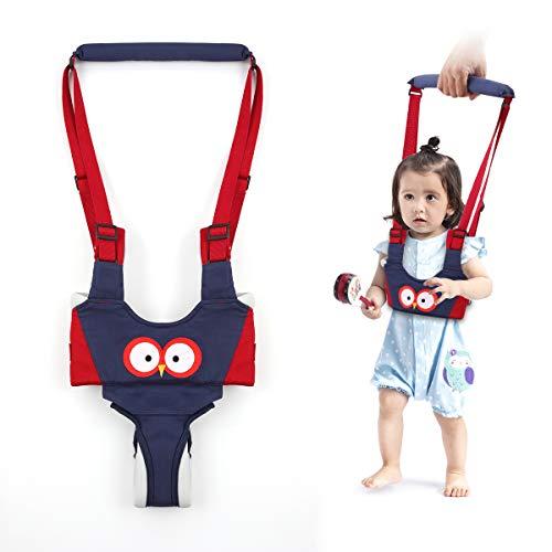 Lauflernhilfe Gehhilfe für Baby Achort Stehen und Gehen Lernen Helfer für Kinder, 4 in 1 Funktionale Sicherheit Laufgeschirr Walker für Baby 6-24 Monate