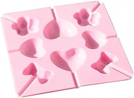 Frmarche Moules /à G/âteau Mousse aux Pommes Plaque en Silicone pour Faire Cake Pop G/âteaux P/âtisserie