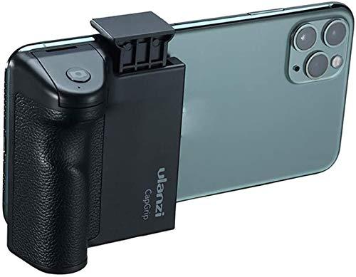 Linghuang Adaptador de Trípode para Teléfono Selfie con Control Remoto Inalámbrico Bluetooth y Orificio de Tornillo de Extensión 1/4 para iPhone Samsung Huawei Sony Sony Xiaomi