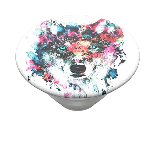 PopSockets PopTop - Top Intercambiable para tu PopGrip Intercambiable - Wolf