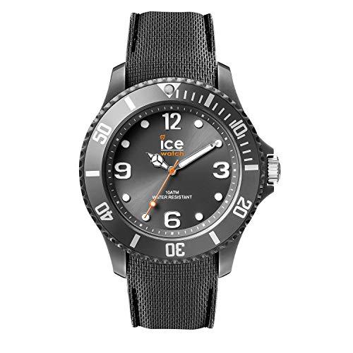 Ice-Watch - ICE sixty nine Anthracite - Graue Herrenuhr mit Silikonarmband - 007268 (Large)