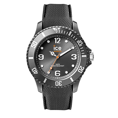Ice-Watch - ICE sixty nine Anthracite - Graue Herrenuhr mit Silikonarmband - 007268 (Large)