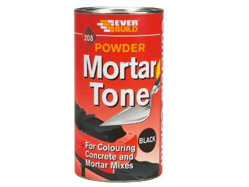Everbuild PMTBK1 Powder Mortar Tone 208 1Kg - Black