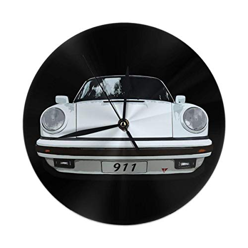 gardenia store Porsche 911 Round Home Decor Wanduhr 9,84'