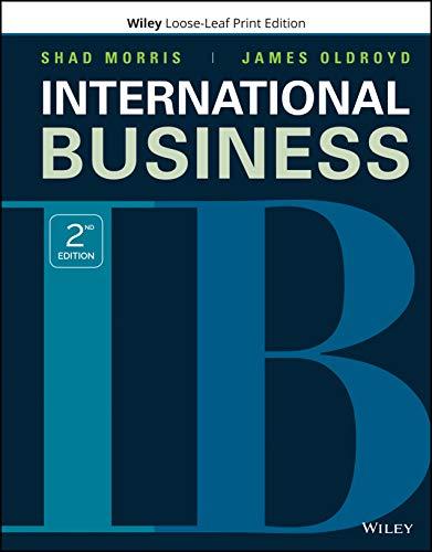 International Business, 2nd Edion [Shad Morris]