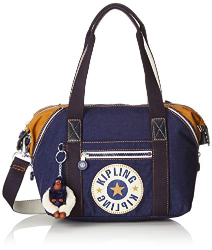 Kipling Art Mini, Cartables femme, Bleu (Active Blue Bl)