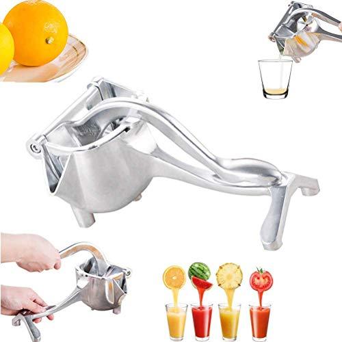 Suszian Manueller Zitronenorangen-Zitrus-Limetten-Entsafter, Edelstahl Manueller Entsafter Handfruchtpresse Küchen-Saft-Extraktor