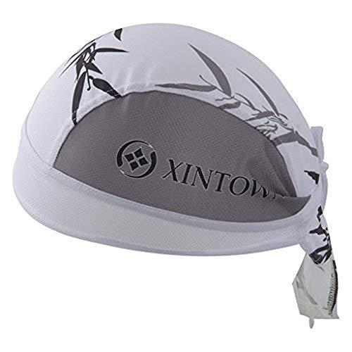 HYSENM Kopftuch Cap Erwachsen Atmungsaktiv Anti-UV für Radsport Motorrad Bandana, Bambus