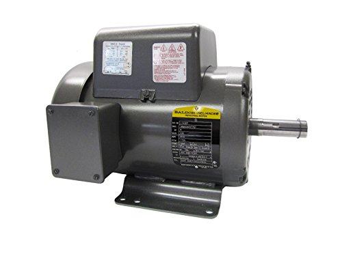 Baldor L1430T General Purpose AC Motor, Single Phase, 184T Frame, ODTF Enclosure, 5Hp Output, 1725rpm, 60Hz, 230V Voltage