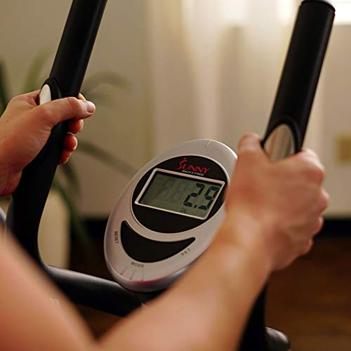 Product Image 7: Sunny Health & Fitness SF-E905 Elliptical Machine Cross Trainer with 8 Level Resistance and Digital Monitor