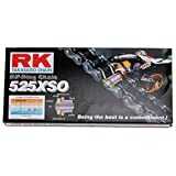 RK Racing Chain 525XSO-112 112-Links X-Ring Chain with Connecting Link