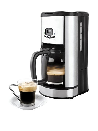 Lacor - 69279 - Cafetera De Goteo Programable 900w 1,80Litros 20tazas - Negro