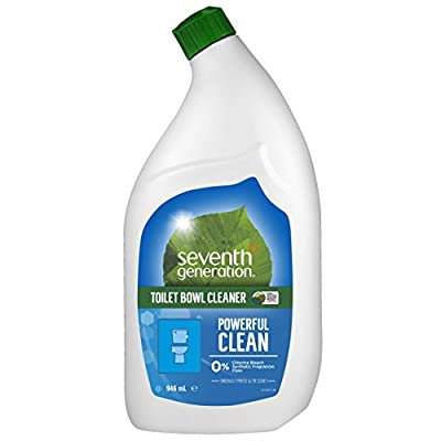 Seventh Generation Emerald Cypress and Fir Scent Toilet Bowl Cleaner 32 oz, 8-Pack