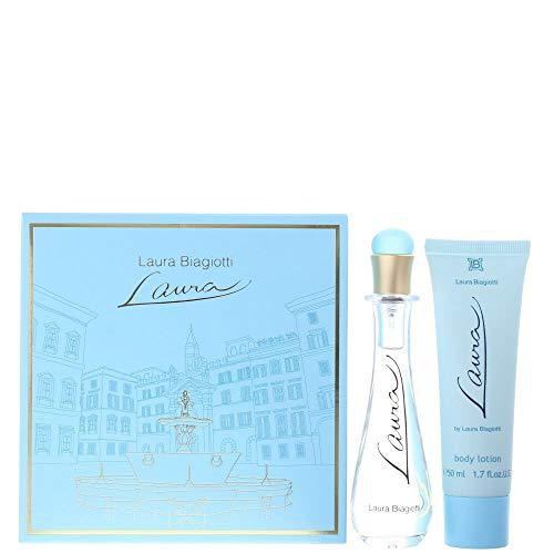 Laura Biagiotti Damendüfte Laura Geschenkset Eau de Toilette Spray 25 ml + Body Lotion 50 ml 1 Stk.