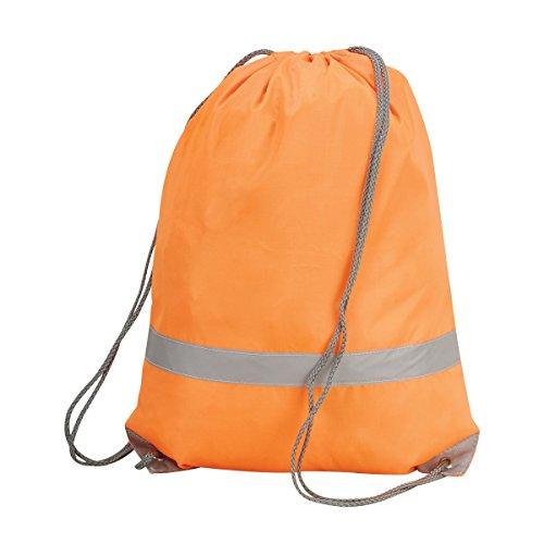 Shugon - Sacca a spalla ad alta visibilità (Taglia unica) (Arancio)