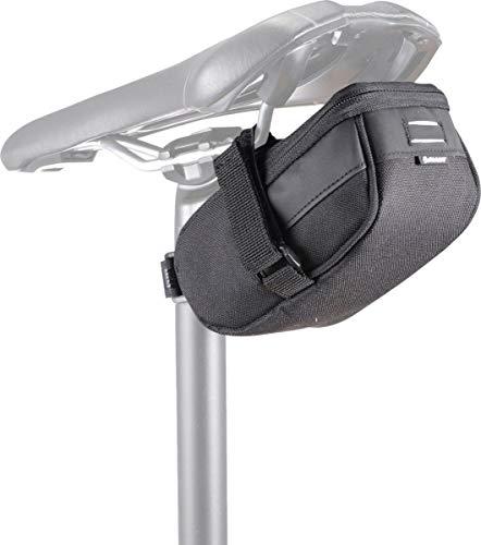 Giant - Bolsa para sillín de bicicleta, color negro, talla M