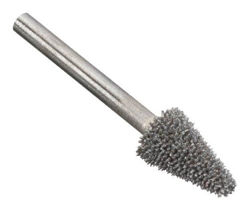 Dremel 9934 Gezahnter Wolfram-Karbid-Fräser mit Kegelspitze - Zubehörsatz für Multifunktionswerkzeug mit 1 Fräser 7,8 mm zum Fräsen in Holz, Kunststoffen, Metall u.v.m.