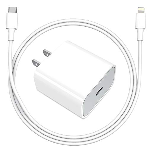 iPhone Fast Charger, Everdigi 20W USB C Wall Charger with 3FT USB C to Lightning Cable MFi Certified Fast USB-C PD Charger for iPhone 12/12Pro/12 Pro Max/11/11Pro/11 Pro Max/Xs Max/XR/X/ 8 Plus