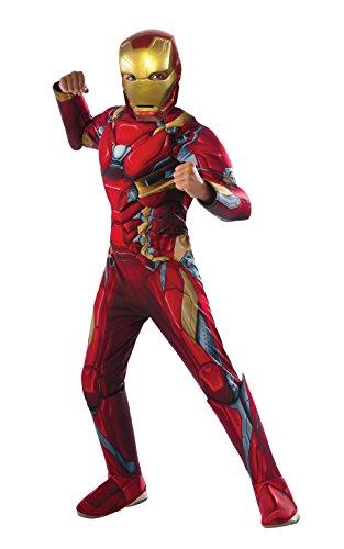 Rubies Capitan America Civil War  Estreno En Cines 29 Abril 2016 - Disfraz Iron Man Premium CW