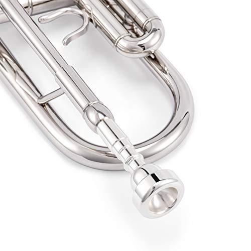 EastarトランペットBb調Trumpet初心者セット清潔アクセサリー付(ニッケルメッキ)