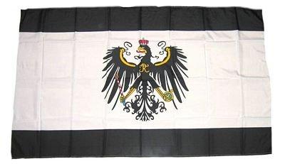 Fahne / Stockflagge Königreich Preußen 30 x 45 cm Flagge