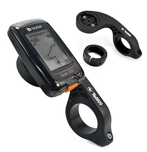 Tuff-luv Bryton Rider Bike GPS Handlebar Mount/Montage Guidon - Noir