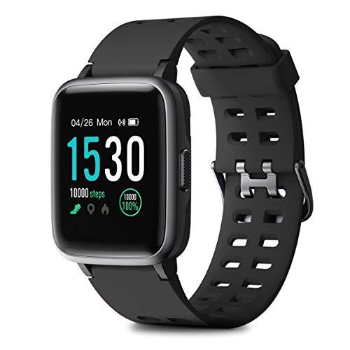 HOMVILLA Cronometros Deportivos, Fitness Tracker, Pulsera de Actividad, Reloj Inteligente Impermeable con Pulsómetro Monitor de Sueño Smartwatch para Mujer Hombre Niños