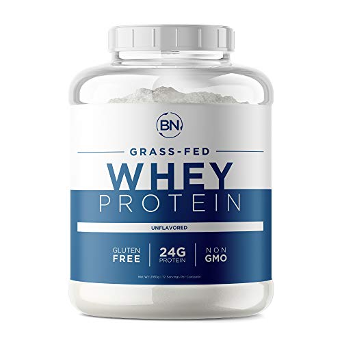 Grass Fed Whey Protein Powder - 100% Natural and Pure – 24g High Protein - 5 lb/72 Servings - Cold Processed - Non-GMO - rBGH-Free - High Quality from Wisconsin USA - (Packaging May Vary)