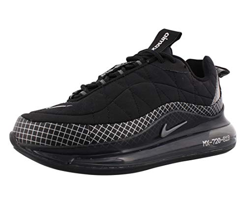 Nike MX-720-818 (GS), Scarpe da Corsa, Black/Mtlc Silver-Black-Anthracite, 39 EU